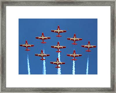 In Formation Framed Print by Randy Hall