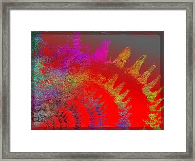 In Gear Framed Print by Tim Allen