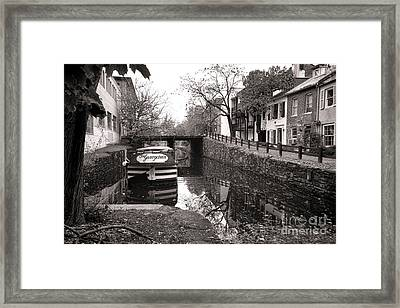 In Georgetown Framed Print