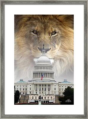 In God We Trust Framed Print by Bill Stephens