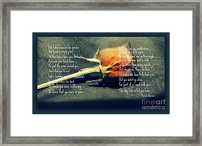 In God's Garden-2 Framed Print