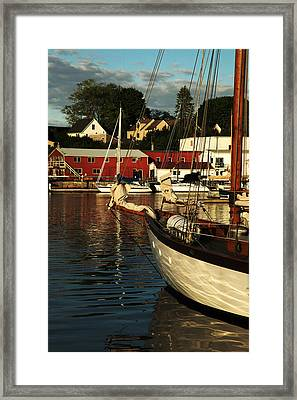 In Harbor Framed Print