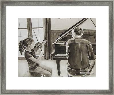 In Harmony Framed Print