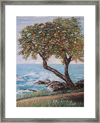In Hawaii Framed Print