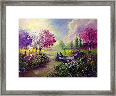 In Heaven Everything Is Fine Framed Print by Randy Burns