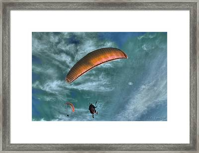 Framed Print featuring the photograph In Heaven by Julis Simo