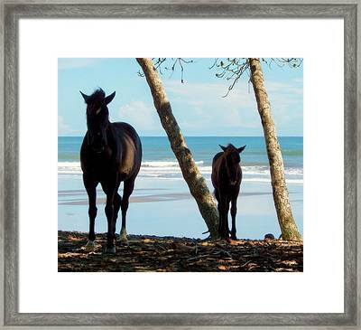 In Her Image Framed Print