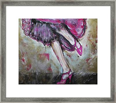 In Her Shoes Too Framed Print by Lucy Matta - Lulu