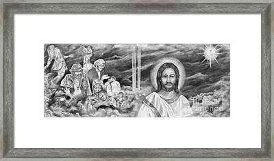 In His Kingdom Framed Print by James McAdams