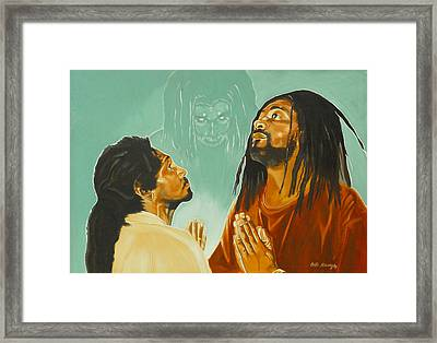 In His Presence Framed Print