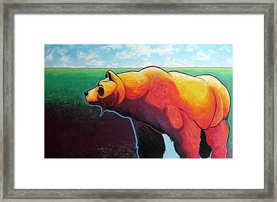 In His Prime Framed Print by Joe  Triano