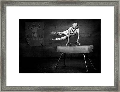 In His Prime Framed Print by Kt Allen