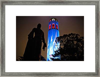 In Honor Of 911's Fallen Heros Framed Print