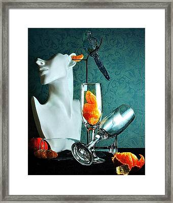 Framed Print featuring the photograph In Honor Of Karo by Elf Evans
