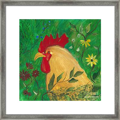 In Honor Of Slick  Framed Print by Donna Brown