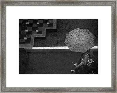 In Hurry Framed Print by Achmad Bachtiar