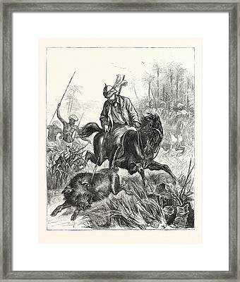 In India, The Prince Of Wales Framed Print