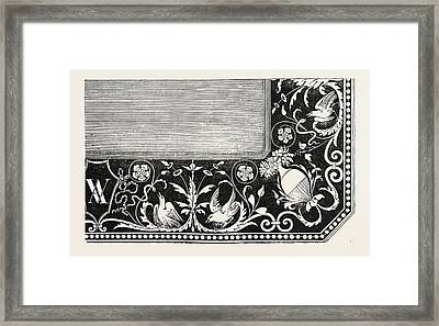 In-laid Table Top Framed Print