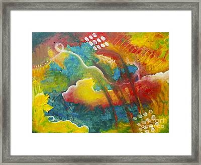 In Limbo   Between Heaven And Hell Framed Print