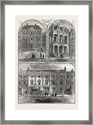 In Lincolns Inn Fields. Duke Of Ancasters House Framed Print