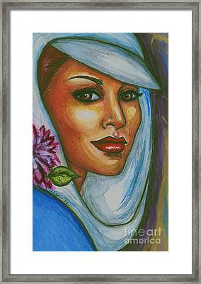 Framed Print featuring the mixed media In Living Color by Alga Washington