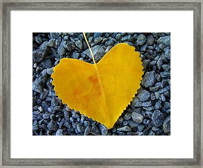 Framed Print featuring the photograph In Love ... by Juergen Weiss