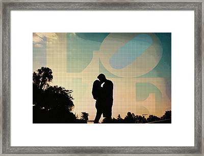 In Love Framed Print by Celestial Images