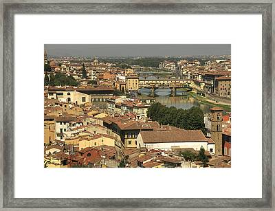 In Love With Firenze - 1 Framed Print