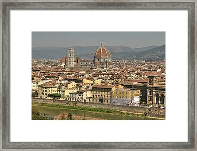 In Love With Firenze - 2 Framed Print