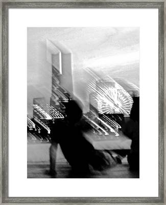 Framed Print featuring the photograph In Love With Love - 10 by Larry Knipfing