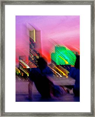 Framed Print featuring the photograph In Love With Love - 11 by Larry Knipfing