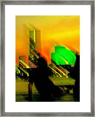 Framed Print featuring the photograph In Love With Love - 12 by Larry Knipfing