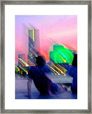 Framed Print featuring the photograph In Love With Love - 13 by Larry Knipfing
