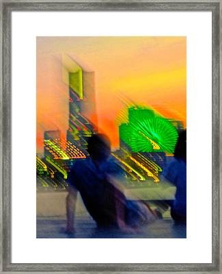 Framed Print featuring the photograph In Love With Love - 6 by Larry Knipfing