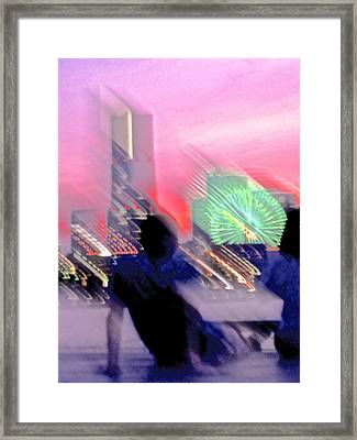 Framed Print featuring the photograph In Love With Love - 8 by Larry Knipfing