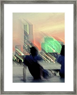 Framed Print featuring the photograph In Love With Love - 9 by Larry Knipfing