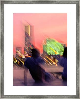 Framed Print featuring the photograph In Love With Love - 2 by Larry Knipfing