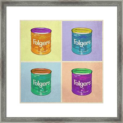 In Loving Memory Of Donny Who Loved Bowling Set Of 4 Variant 1 Framed Print by Filippo B