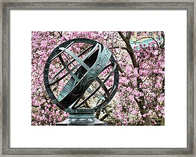In Magnolia Plaza Framed Print by JC Findley