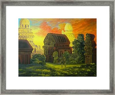 In Mavalipurma Framed Print