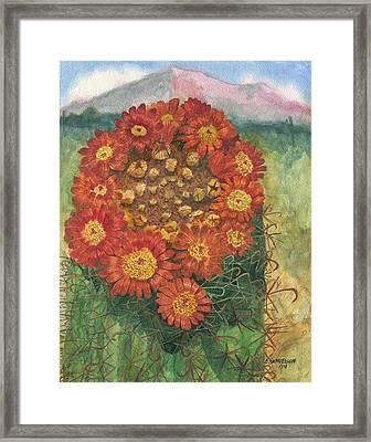 In Memory Of George Framed Print