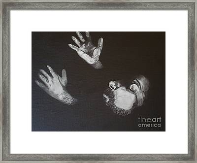 Framed Print featuring the painting In Memory Of My Father by Stuart Engel