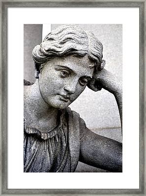 In Mourning Framed Print