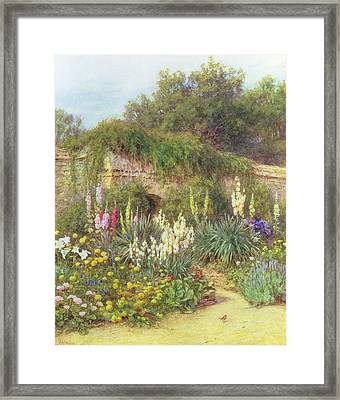 In Munstead Wood Garden Framed Print by Helen Allingham