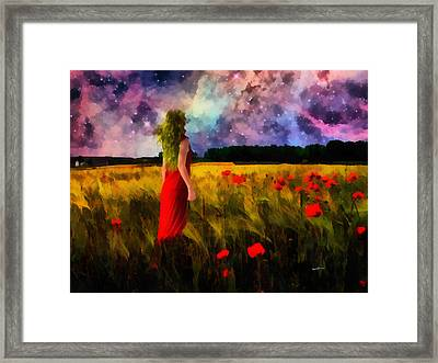 In My Dream Framed Print