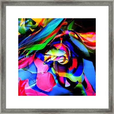 In My Dreams 2 Framed Print by Barbs Popart