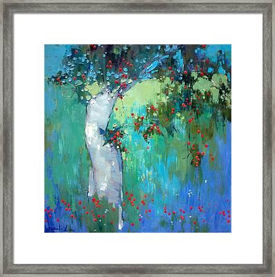 In My Garden Framed Print by Anastasija Kraineva