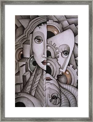 In My Mind Framed Print by Simona  Mereu