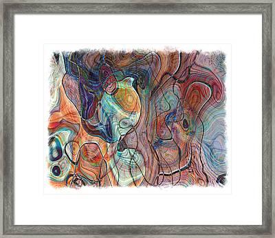 In My Minds Eye Framed Print by Susan Leggett