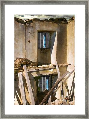 In Need Of Repair Framed Print by Liane Wright